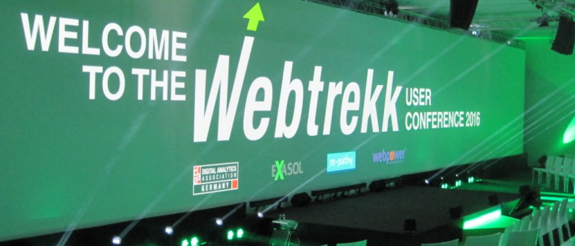 Webtrekk User Conference 2016